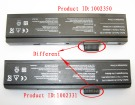 Advent 1115C 10.8V 4400mAh batterien, 1115C laptop akku