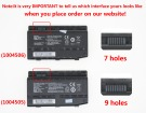 MECHREVO 7550830-160201791 10.8V 4400mAh batterien, 7550830-160201791 laptop akku
