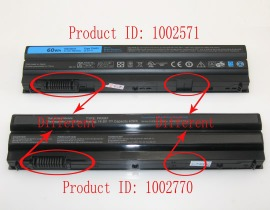 DELL KJ321 11.1V 5400mAh batterien, KJ321 laptop akku