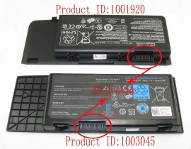Dell 7xc9n 11.1V 8100mAh batterien, 7xc9n laptop akku